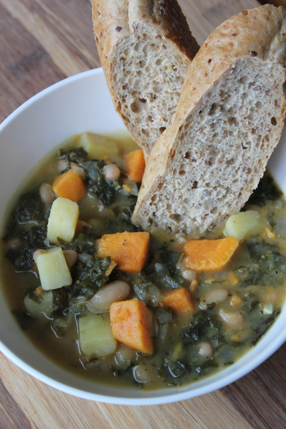 Kale and Bean Soup 1